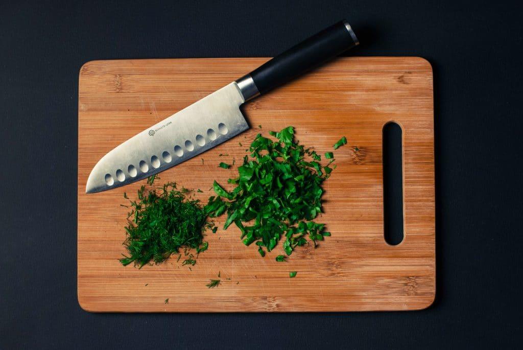 afiar a faca