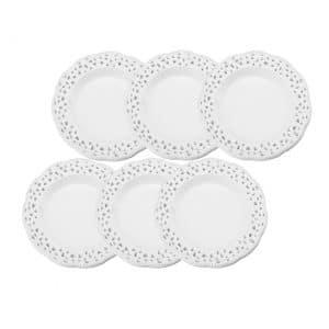 jogo-06-pratos-sobremesa-porcelana-rendados