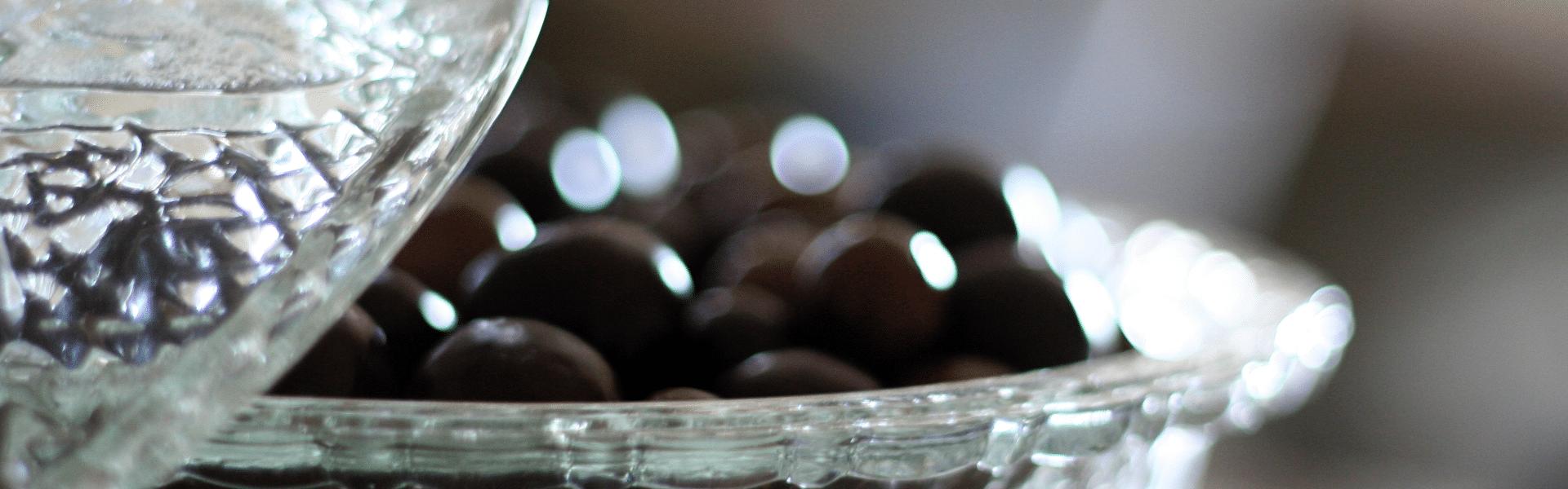 bomboniere de vidro