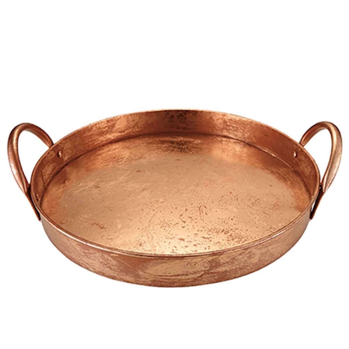 bandeja de cobre