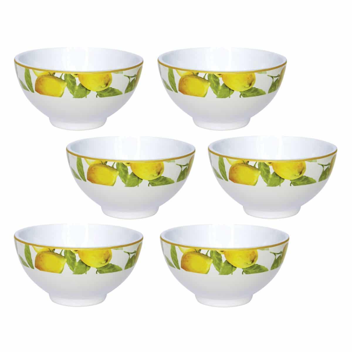 bowls lemon