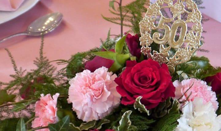 festa de bodas de ouro