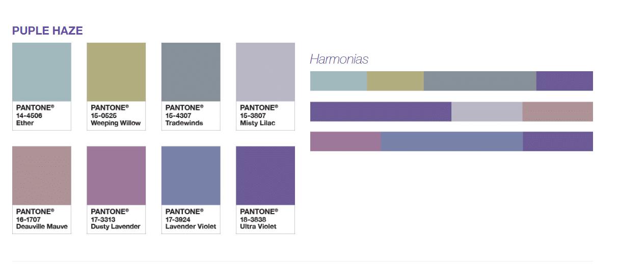 violeta pantone