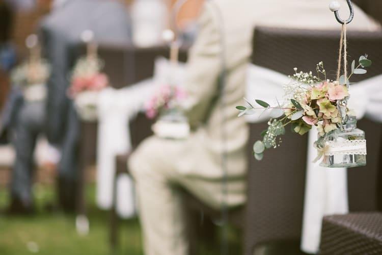 decoração de casamento vintage