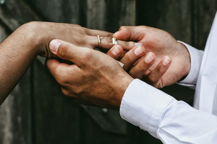 aniversário de um ano de casamento