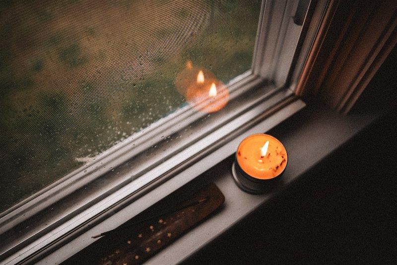 Imagem de uma vela de incenso
